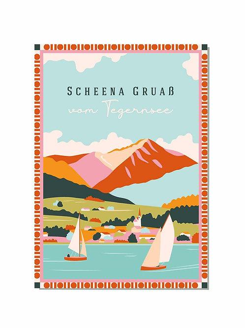 Postkarte Scheena Gruaß