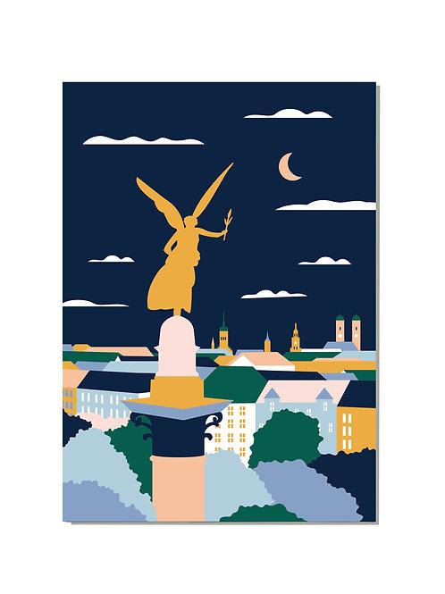 Postkarte Friedensengel