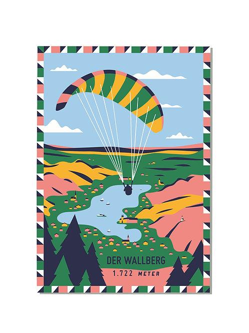 Postkarte Wallberg