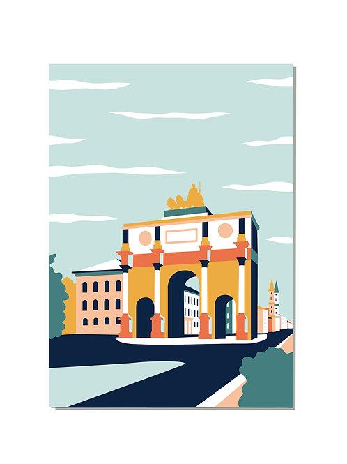 Postkarte Siegestor
