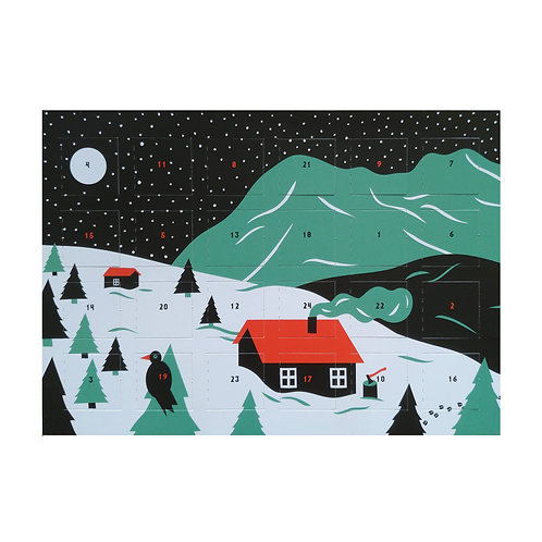 Adventskalender Winterlandschaft