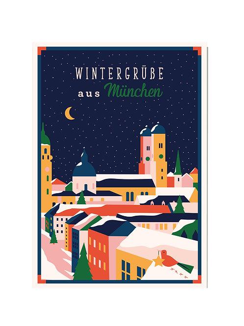 Wintergrüße aus München