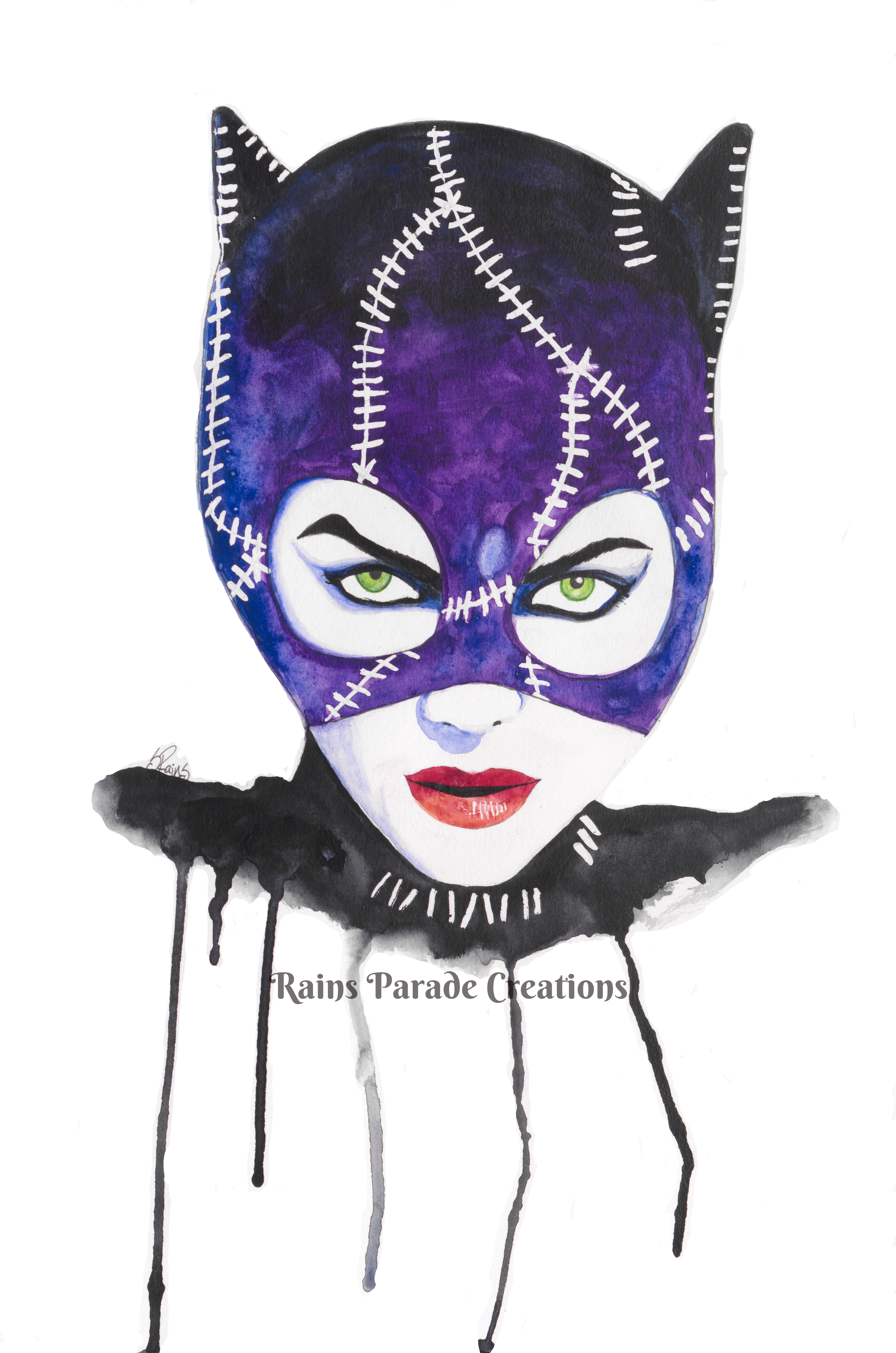 Catwoman (black and purple)