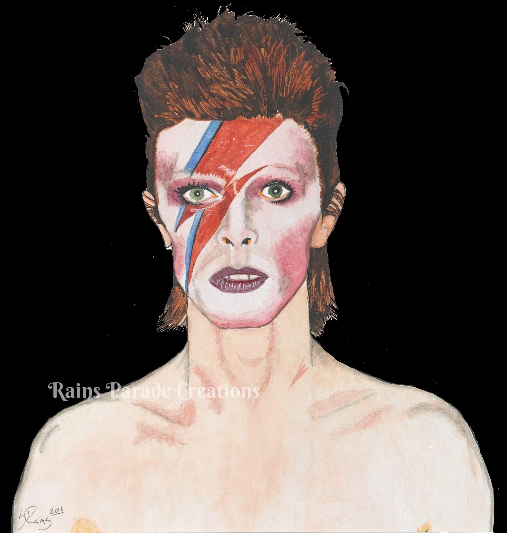 Bowie black WM