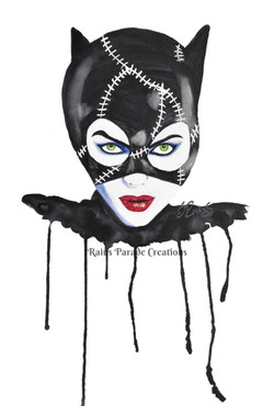 Catwoman (black and white)