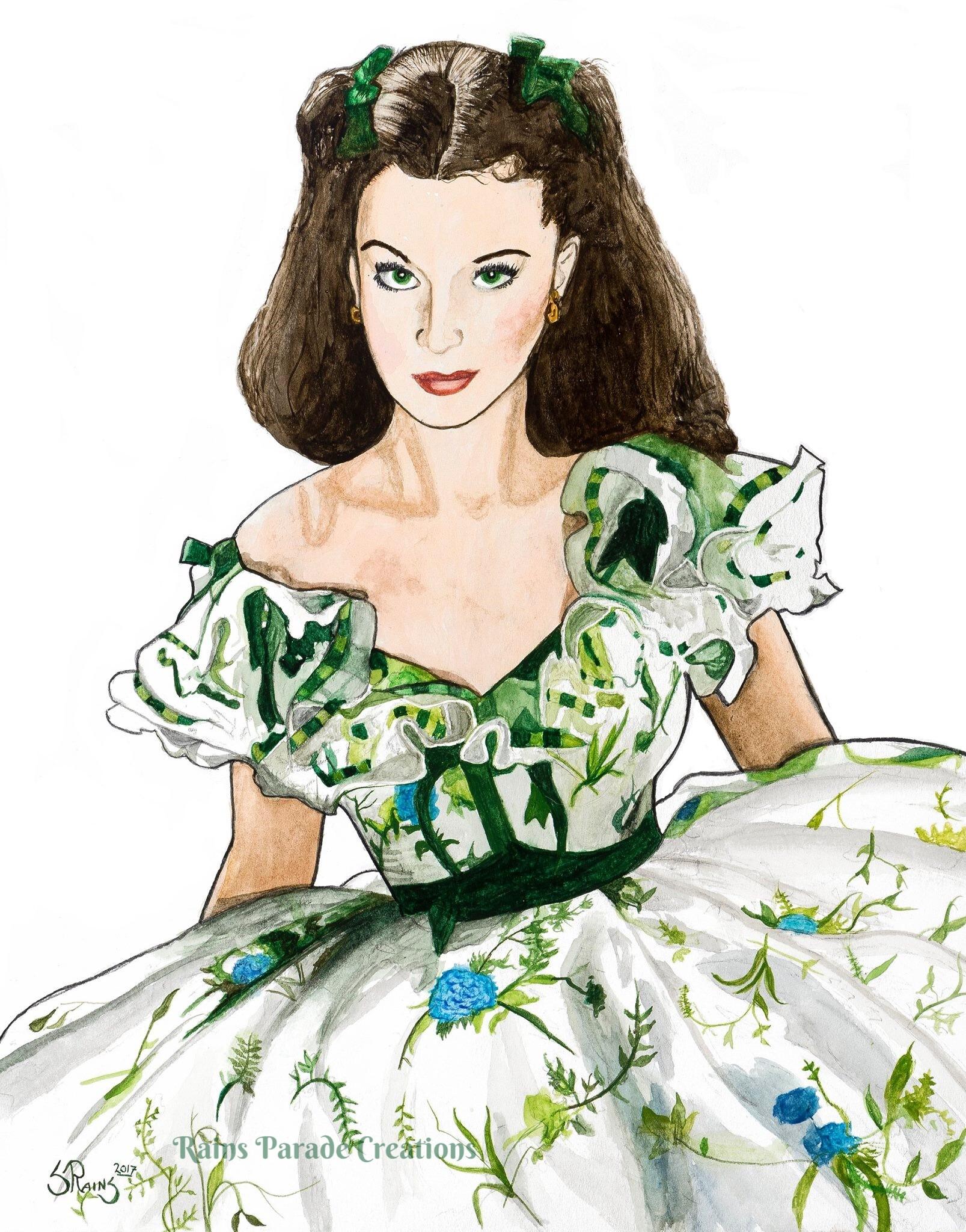 Scarlett dress WM