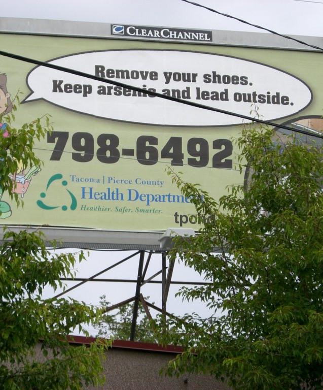 Tacoma/Pierce County Health Department warning