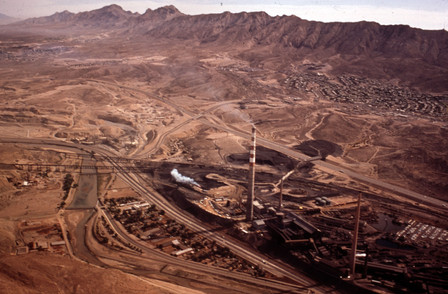 Asarco and Smeltertown, photographed by Danny Lyon,