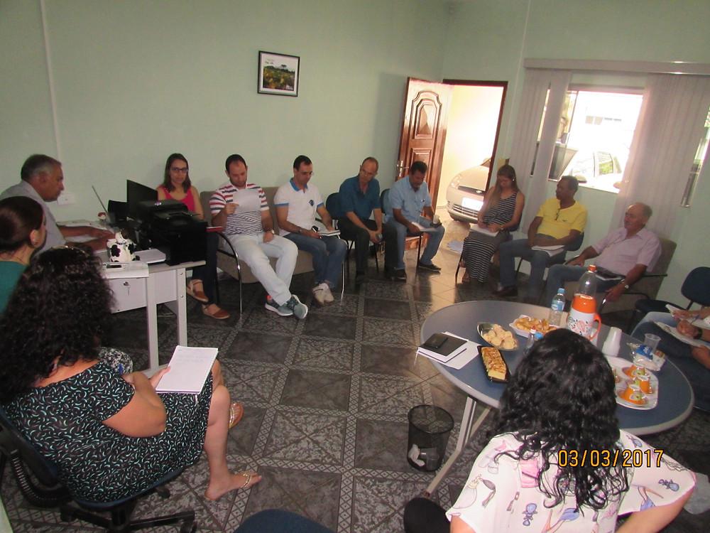 Reunião da Comissão Organizadora do III SAO