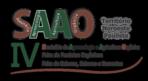 IV SAAO - Seminário de Agroecologia e Agricultura Orgânica - 07 e 08/08/209 em Jales-SP. Para mais informações acesse www.organicosnoroestepaulista.com - Evento Gratuito