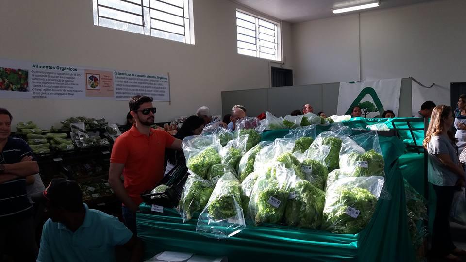 Inauguração de Feira de Alimentos Orgânicos de Jales