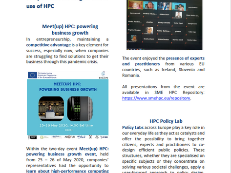 SME/HPC project Newsletter 6