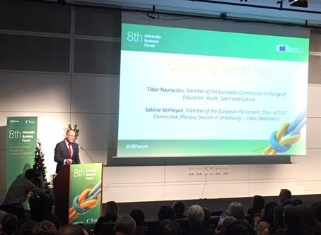 8th European University Business Forum