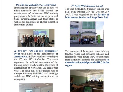 SME/HPC project Newsletter 4