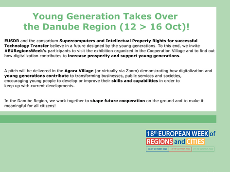 Young Generation Takes Over the Danube Region