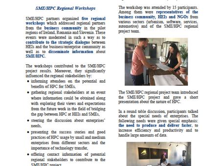 SME/HPC project Newsletter 5