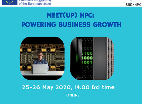 SAVE THE DATE: Meet(up) HPC: powering business growth event