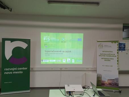 """Workshop """"HPC for breakfast"""" in Novo mesto"""