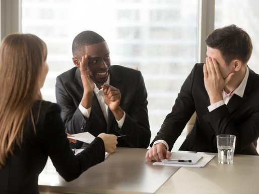 Five Tips to Recover from a Bad Job Interview