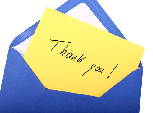Deaf Job Candidates: How to Write a Good Thank You Note and Why It Matters