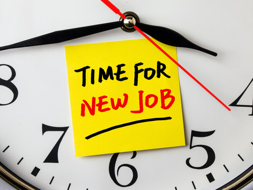 When Is Time for You To Change Jobs?