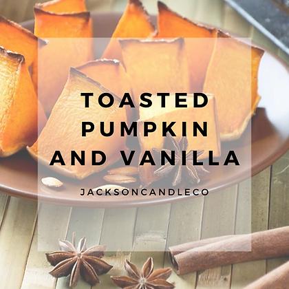 Toasted Pumpkin and Vanilla