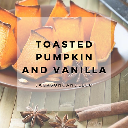 Toasted Pumpkin and Vanilla