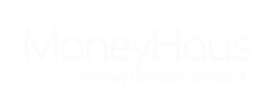 White MoneyHaus Logo with motto.png