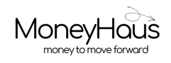 black MoneyHaus Logo with motto.png