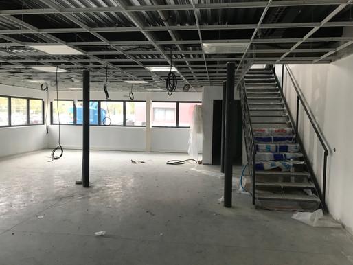 MCN FONTENAY TRESIGNY - Avancement des travaux Octobre 2019