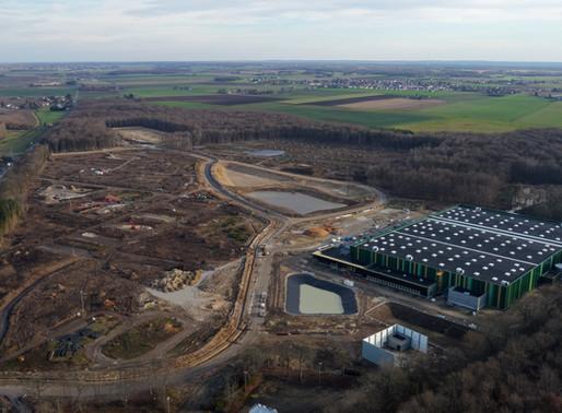 COSMETIC PARK ORLEANS - Avancement des travaux Janvier 2020