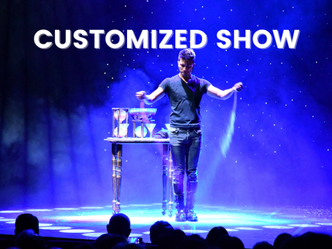 Almost anything is possible with magic. Making a CEO or VIP appear from thin air to give his opening speech. Launching a product with a grand touch of magic. Kicking off a dinner and dance night with a short fast-paced illusion show. Producing special magic act that is in line with the theme. Making an impression and taking your breath away.
