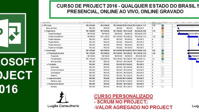 CURSO MS-PROJECT PERSONALIZADO