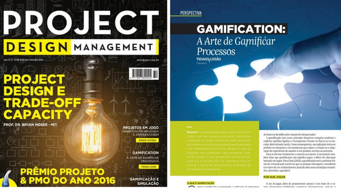 Gamification - Artigo Project Design Management