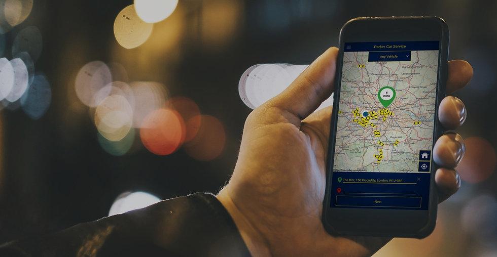 Taxi App in London
