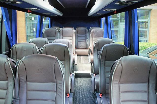 Coach Interior 16 Seat Minibus