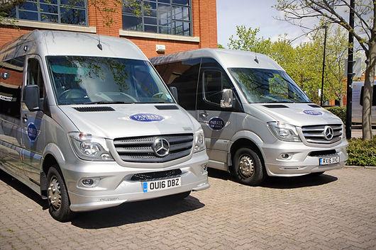 Parker Coaches 16 Seat Minibus