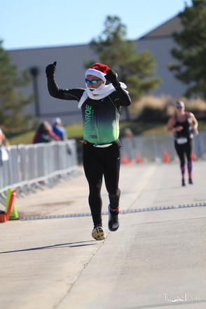 Yes, Santa is a member of Conroe Triathletes!