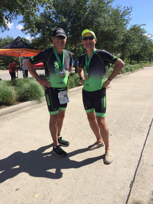Eric and Tony thinking of post race beer!