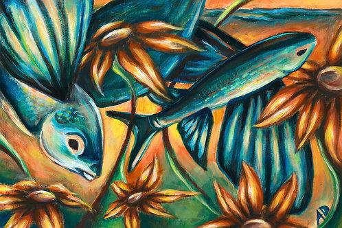 Flying Fish, Print