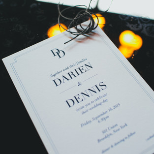 DARIEN & DENNIS' WEDDING