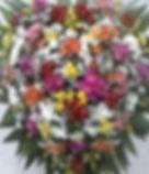 Coroa de Flores  Em formato de coração  Flores do campo