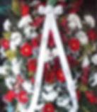 Coroa de Flores de gérberas e Crisântemos