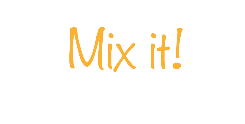 Mix it! - Mix Dir Deinen Glitzermix