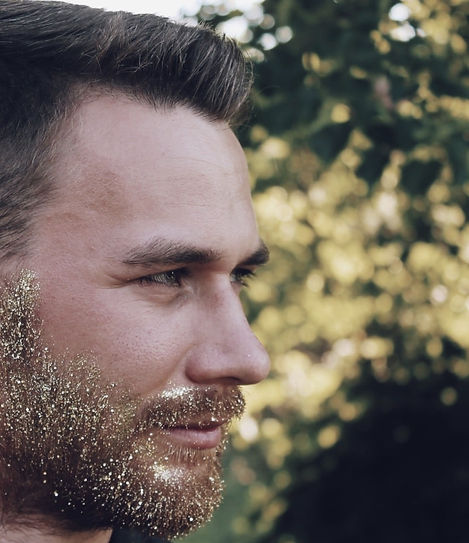 Glitzer Bart/Glitter Beard