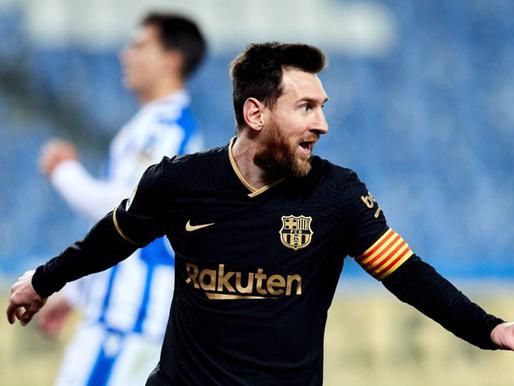 Marta trešās nedēļas vārtu guvumu Top 7 - šoreiz iebalsojam La Liga vārtu guvumus, topā atkal Mesi