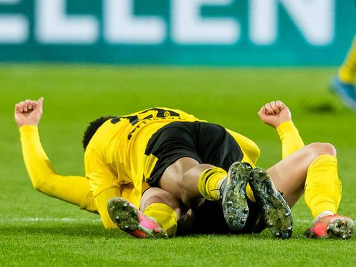 Dortmundes Borussia un RB Leipzig soļo tālāk, COVID-19 dēļ viena spēle pārcelta