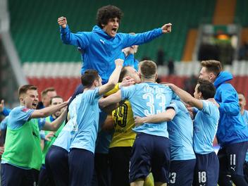 Zenit vienas uzvaras attālumā no čempionu titula, Maskavas derbijā uzvar Spartak