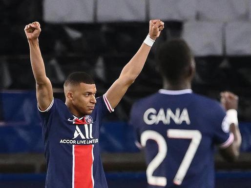 PSG divu spēļu summā revanšējas par zaudējumu augusta finālā, vēl 1/2 finālā 2 angļu klubi un Real