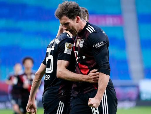 Minhenes Bayern pietuvinās čempiontitulam, Dortmundes Borussia attālinās no Čempionu līgas